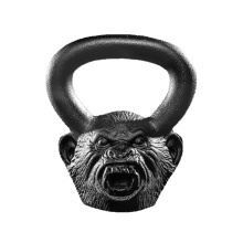 18LB Howler Monkey Animal Face Kettlebell