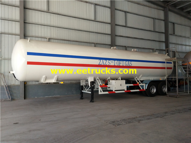 2 axles LPG Tank Semi-trailers