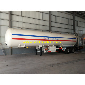 45000 Liters 2 axles LPG Tank Semi-trailers