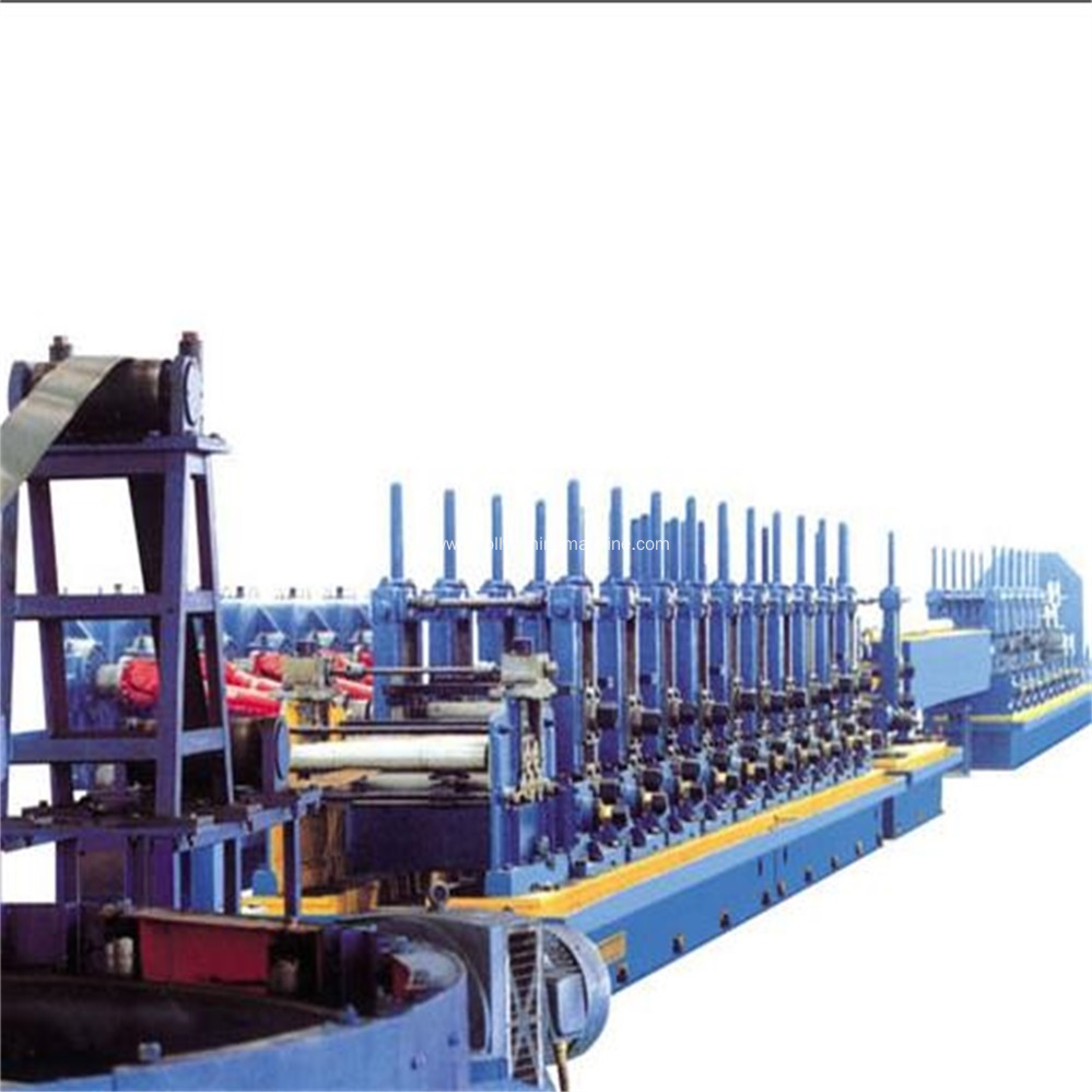 High Frequency Welded Square Tube Mill Making Machine
