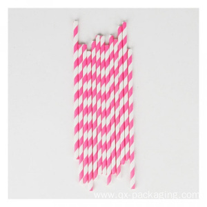 Striped paper straws for sale