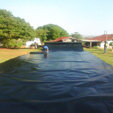 30mils HDPE geomembrane as sea cucumber pond liner