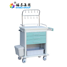 Hospital infusion cart trolley