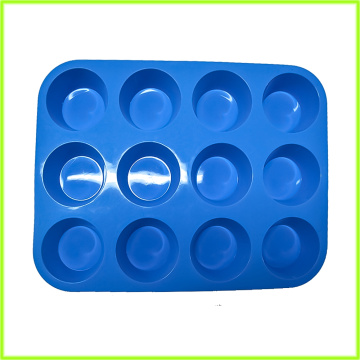 Food Grade BPA-Free 12-Cup Silicone Muffin Pan