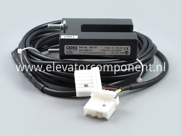 CEDES Leveling Switch for Hitachi Elevators GLS 326 HIT