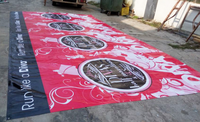 large pvc banners