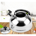 Stainless Steel Flat Base Whistling Water Kettle