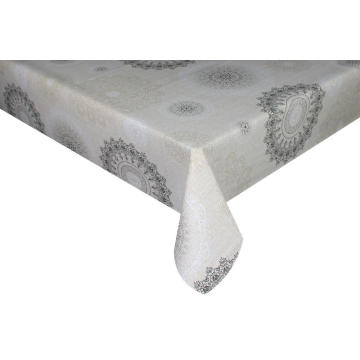 Elegant Tablecloth Christmas with Non woven backing
