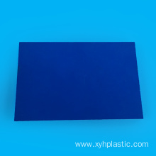 Blue PVC Sheet Single side for Glue