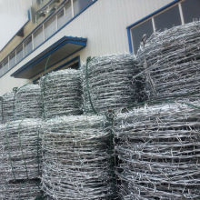 Barbed wire length per kg