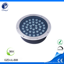 Outdoor round low heat underground road light