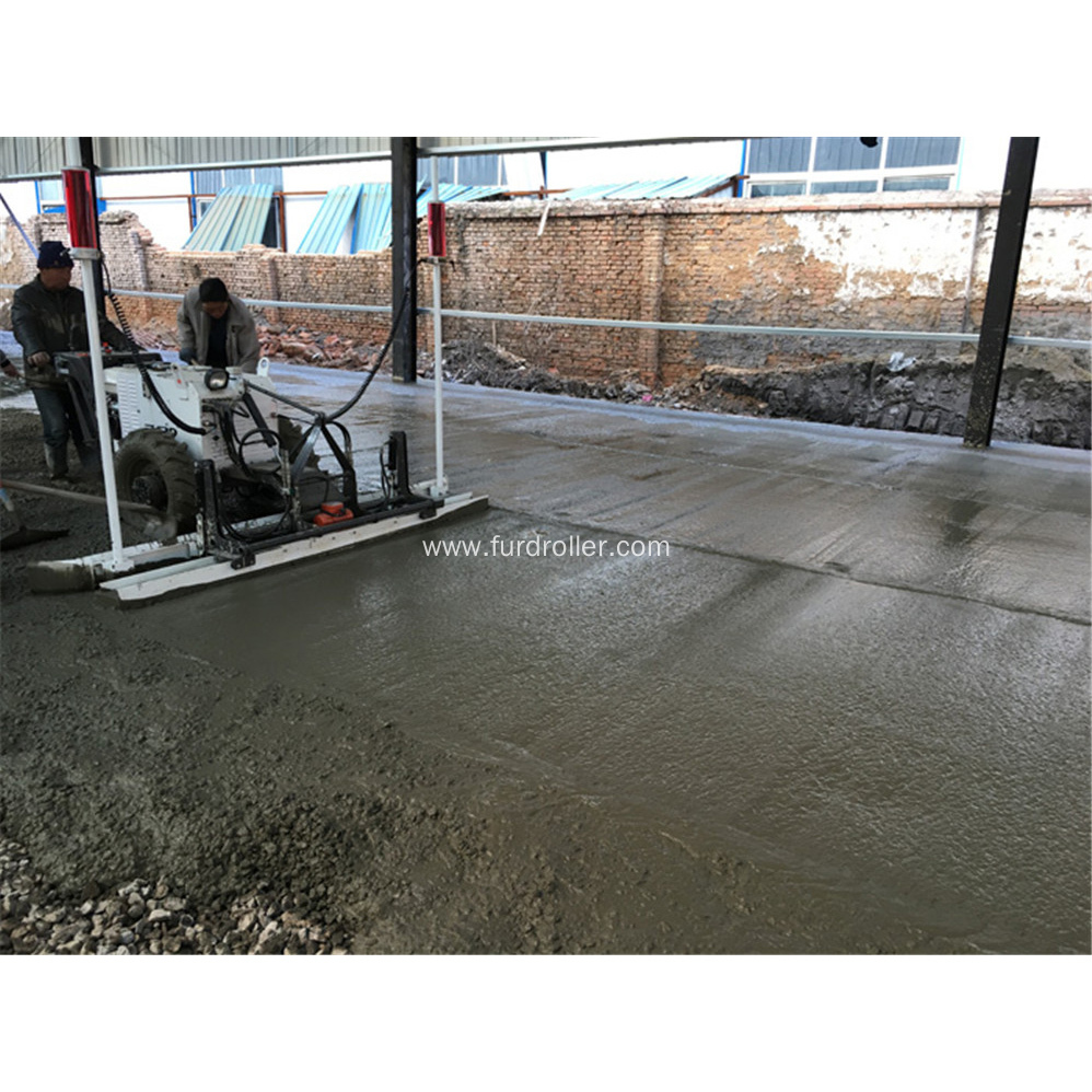Hand Push Laser Screed Concrete Machine