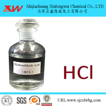 Hydrochloric Acid 31% to 37%, Industrial Grade