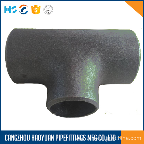 ANSI/DIN/GOST/EN Reduced Tee Butt Welding Pipe Fittings