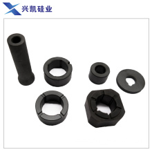Ceramic bearing and shaft sleeve in facilities