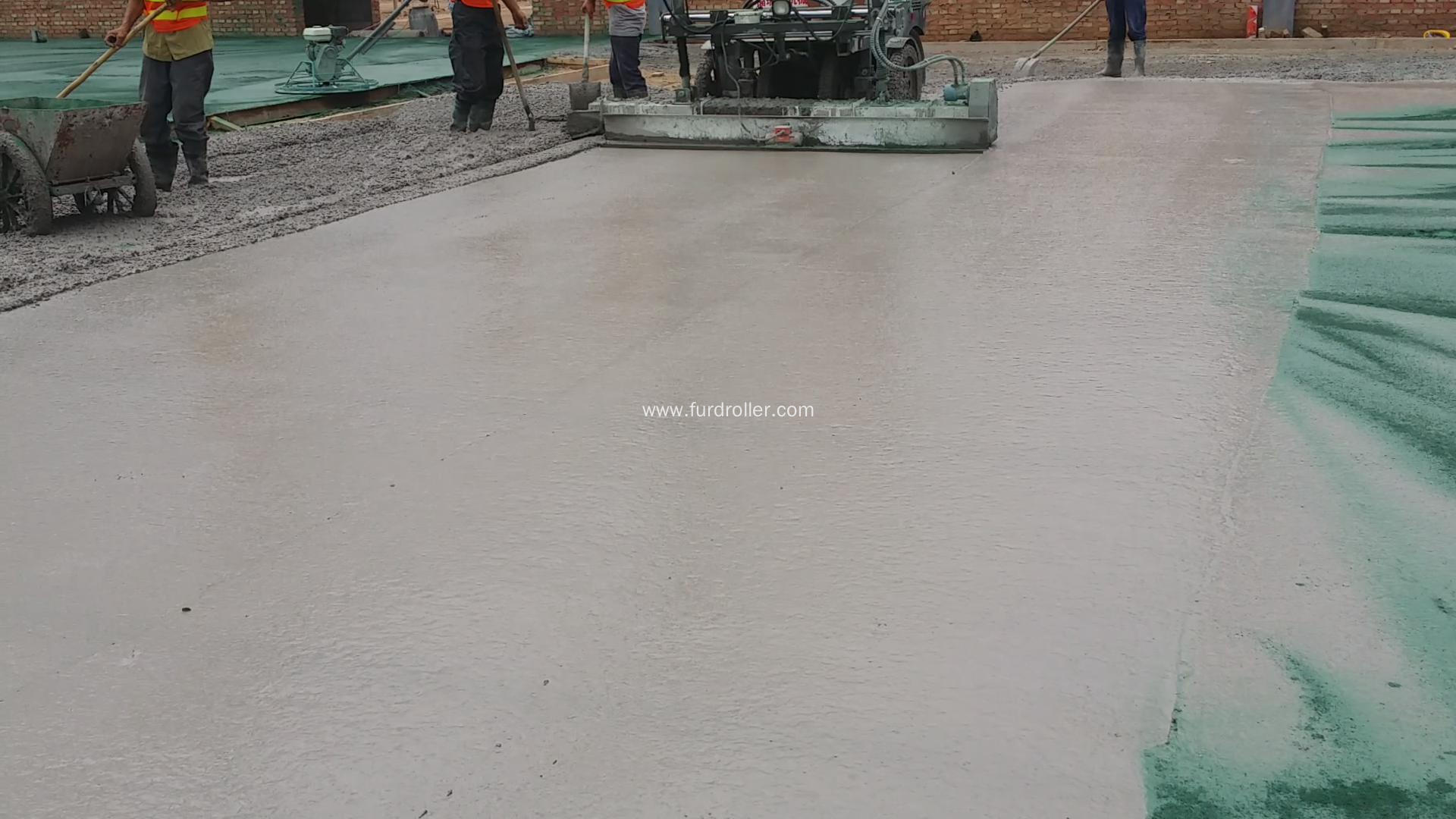 Walk-behind Floor Level Laser Screed Concrete for Sale