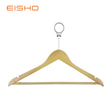 Best quality and factory for China Wooden Shirt Hangers,Luxury Wooden Hanger,Shirt Hangers Supplier EISHO Anti Theft Security Closet Hangers Organizer supply to United States Factories