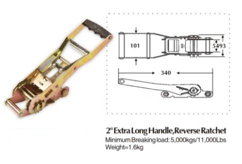 2[EXTRA LONG HANDLE,DOUBLE SECURITY LOCK