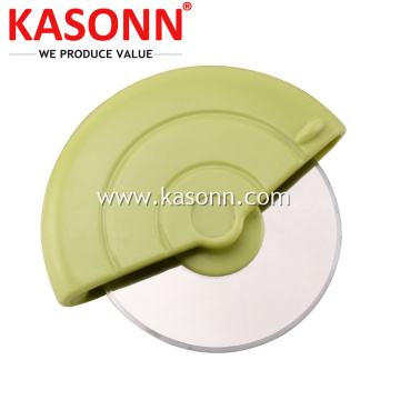 Roda Cutting Pizza Stainless Steel Pusingan