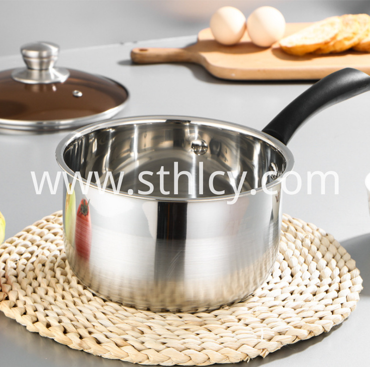 Stainless Steel Milk Pot1