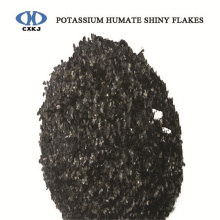 China for Potassium Humate Crystal 100% SOLUBLE POTASSIUM HUMATE FLAKES export to Panama Factory