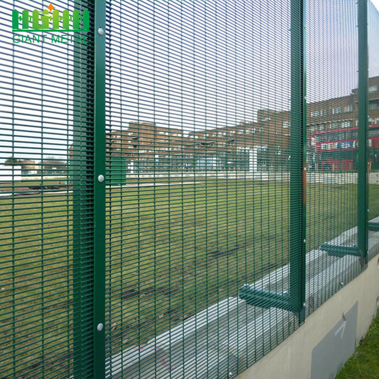 Welded High Security 358 Wire Mesh Garden Fence