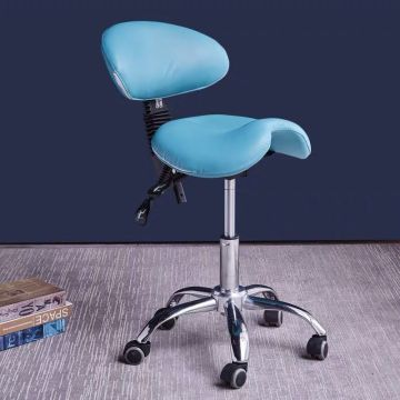 Beauty salon master saddle chair