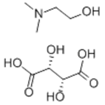 2-DIMETHYLAMINOETHANOL HYDROGEN L-(+)-TARTRATE CAS 29870-28-8