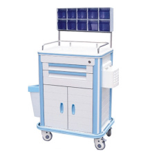 Two layer drawer ABS anesthesia cart