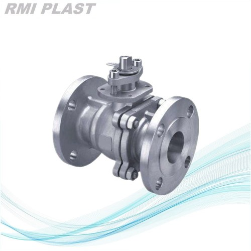 Manual stainless steel flange 304  ball valve