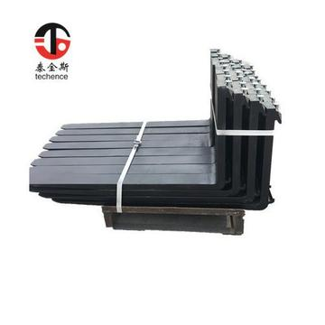 Class 3A Length2400mm long forklift forks of ISO standard