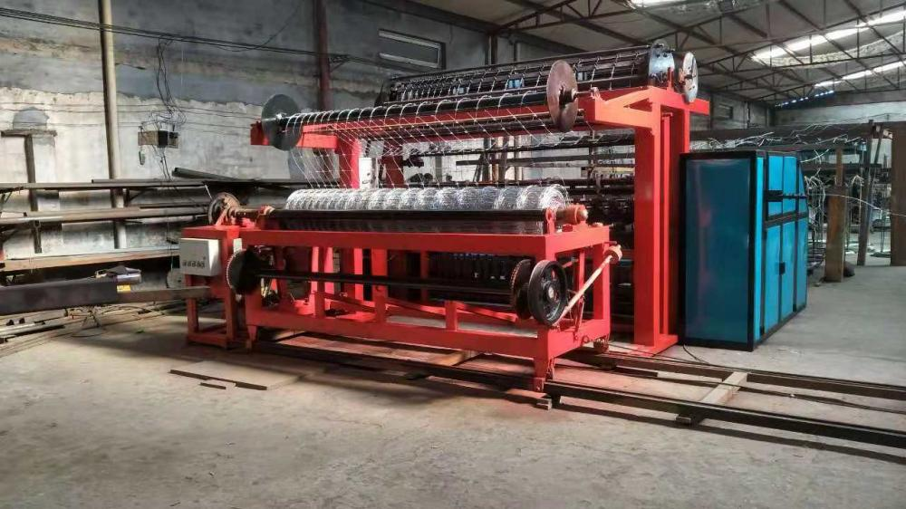 Fixed Knot Fence  Machine