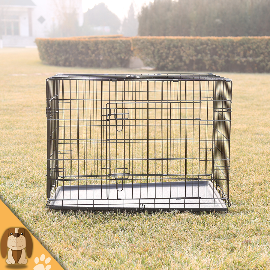 Durable Wire Folding Pet Dog Cage
