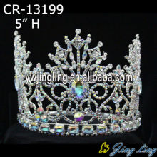 "5"" AB Crystal Crown And Tiaras"