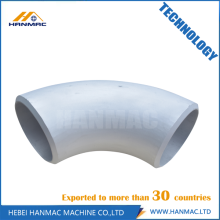 Best Price for for 90 Degree SR/LR Aluminum Elbow 45D & 90D short radius aluminum elbow supply to Panama Manufacturer