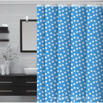 Waterproof Bathroom printed Shower Curtain 90 Inches Long