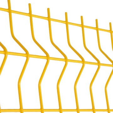 3d fence mesh welding curved metal fencing