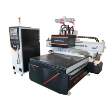 Multi-heads automatic woodworking machine