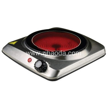 stainless steel single infrared cooker