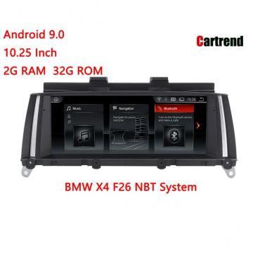 6 Core BMW X4 F26 Dashboard Radio