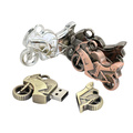 Metal Motorcycle USB Flash Drive