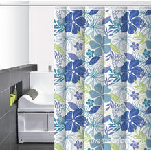 Waterproof Bathroom printed Shower Curtain Liner Extra Long