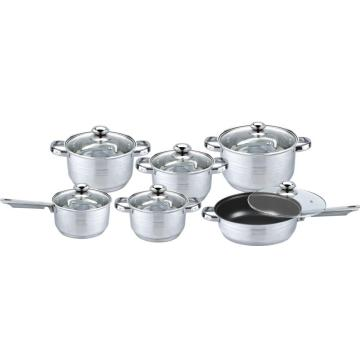 Non-stick coating cookware set
