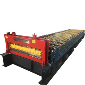 Colorful Corrugated Composite Roof Tile Machine