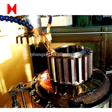 DIN ANSI Large casting Steel  gear shaft
