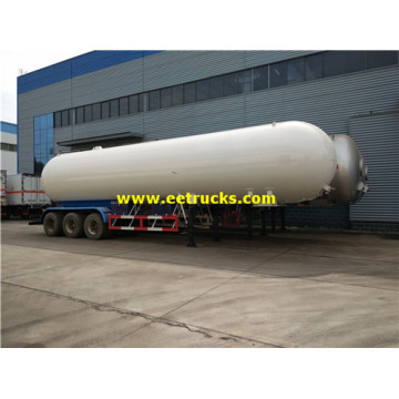 56000L Tri-axle Propane Trailer Tanks