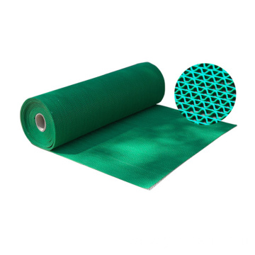 Waterproof bathroom PVC S mat in roll