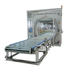 Horizontal plastic packing machine