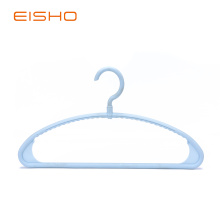 Best Quality for Plastic Clothes Hanger EISHO Blue Plastic Tubular Coat Hangers supply to Germany Exporter