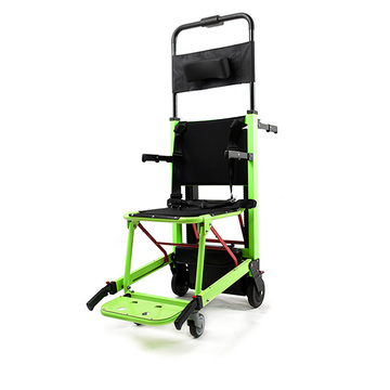 powered evacuation stairclimber with tracks